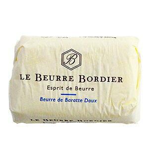【毎週火曜〆切→翌週木曜発送】フランスブルターニュ産 ボルディエ 無塩発酵フレッシュバター 125g