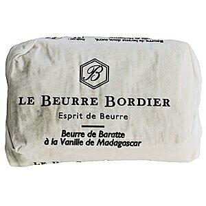 【毎週火曜〆切→翌週木曜発送】フランスブルターニュ産 ボルディエ フレッシュバター バニラ 125g