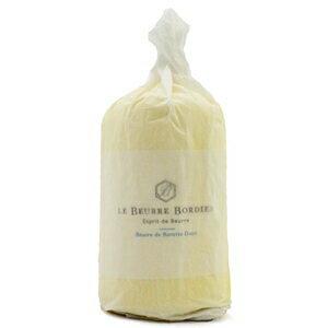 【毎週火曜〆切→翌週木曜発送】紙巻き フランスブルターニュ産 ボルディエ 無塩発酵フレッシュバター 1kg