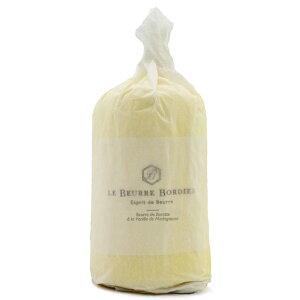【毎週火曜〆切→翌週木曜発送】紙巻き フランスブルターニュ産 ボルディエ 発酵フレッシュバター バニラ 1kg