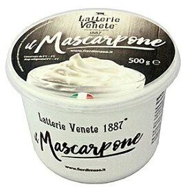 【フレッシュ感のある柔らかめのマスカルです!】ラッテリエ ヴェーネテ マスカルポーネ 500gx6