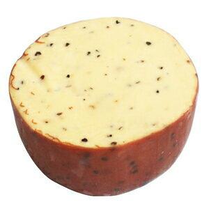 オランダ産 スモークチーズ ブラックペッパー約300g(不定貫4000円[税抜]/kgで再計算)