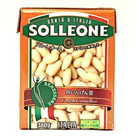 ソルレオーネ 白いんげん豆 380gx16パック
