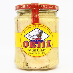 【パスタやサラダにはこれ!】オルティス社 キハダマグロのオリーブオイル漬け 400g