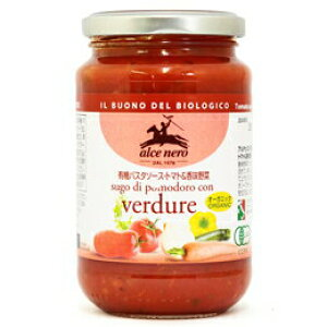 【有機JAS認定】アルチェネロ トマトソース トマト&香味野菜 350g