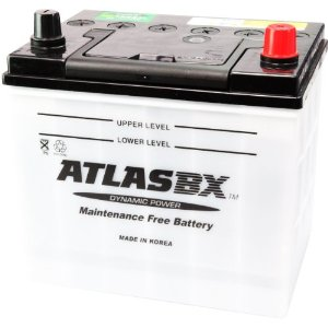アトラスATLAS自動車バッテリー75D23L写真