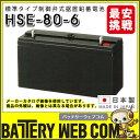HSE-80-6 日立化成 日本製 産業 用 バッテリー HSEシリーズ 制御弁式据置鉛蓄電池 通信設備 消防用設備 UPS 自家発電始動用 受変電設備…