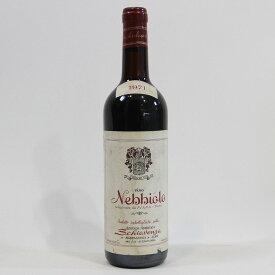 【1971年】ネッビオーロ ダルバ スキアヴェンツァ Nebbiolo d'Alba Schiavenza イタリア ピエモンテ州 赤ワイン 750ml