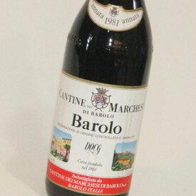 【1981年】バローロ マルケージ・ディ・バローロ Barolo Marchesi di Barolo イタリア 赤ワイン 750ml