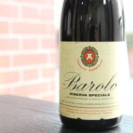 【1967年】バローロ テヌータ・チェレクイオ Barolo Tenuta Cerequio イタリア ピエモンテ州 赤ワイン ネッビオーロ 750ml