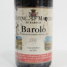 【1973年】バローロ マルケージ・ディ・バローロ Barolo Marchesi di Barolo イタリア 赤ワイン 750ml