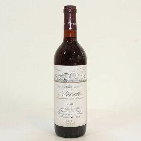 【1976年】バローロ ヴィレッロ チェレット Barolo Villero Ceretto イタリア ピエモンテ州 ネッビオーロ 赤ワイン 750ml