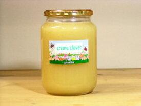 とろとろで後味サッパリ! 全蜂蜜愛好家にお奨め クリームクローバーはちみつ1000g入り 蜂蜜 はちみつ ハチミツ 瓶詰 ハニー