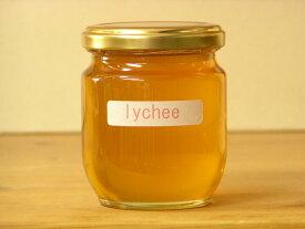 フワッと感じるフルーツの香りライチはちみつ250g入り蜂蜜 ハチミツ はちみつ 瓶詰 ハニー