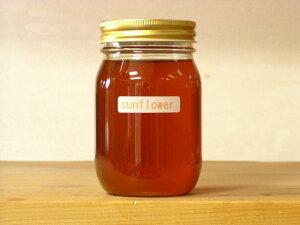 ハーブ系の香り上質オリーブオイルのようなひまわり蜂蜜500g入り蜂蜜 ハチミツ はちみつ 瓶詰 ハニー