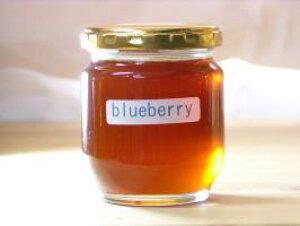 バニラ系の香りお菓子作りにブルーベリーはちみつ250g入り蜂蜜 ハチミツ はちみつ 瓶詰 ハニー