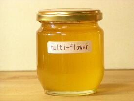 百花蜜タイプながらクセがなくて使いやすいマルチフラワーはちみつ250g