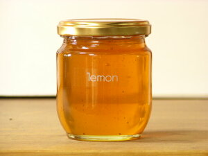 レモン風味で食べやすいイタリア産レモンはちみつ250g入り蜂蜜 ハチミツ はちみつ 瓶詰 ハニー
