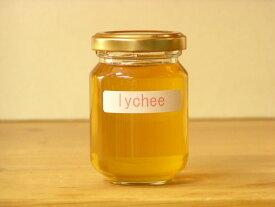 フワッと感じるフルーツの香りライチはちみつ125g入り蜂蜜 ハチミツ はちみつ 瓶詰 ハニー
