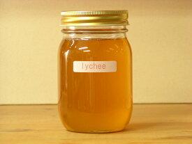 フワッと感じるフルーツの香りライチはちみつ500g入り蜂蜜 ハチミツ はちみつ 瓶詰 ハニー