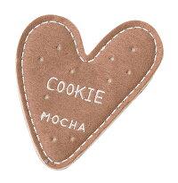ハート型クッキーコースター:モカ