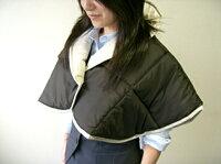 ゲルマニウム肩当て:着用
