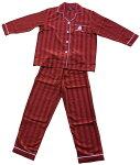 バークレー赤色パジャマ:レディース