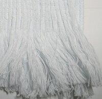 キシリトール配合タオルマフラー:ブルー生地アップ