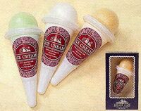 ソフトクリーム3色3個セット