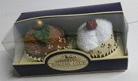 タオルケーキ:プチケーキ:ブラウンとホワイトセット