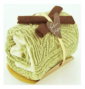日本製タオルケーキ:モンブランロール:抹茶【送料無料一部地域除く】日本製生地で安心安全!誕生日ハロウィン・クリスマス・母父の日敬老の日バレンタイン・ホワイトデー等各種イベ