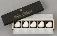 ハート型ホワイトチョコソープ5個セット