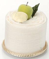 タオルマフラーケーキ:クリーミームース:ビタミン加工イエロー