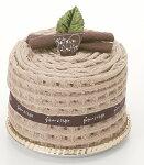 タオルマフラーケーキ:チップインガナッシュ