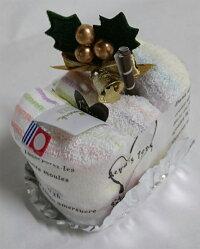 ホールマーク今治認定チャーミードロップ:ロール今治タオルケーキ:クリスマスケーキ