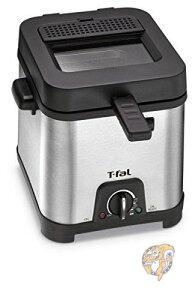 ティファール T-fal FF492D ディープフライヤー 卓上 電気フライヤー 揚げ物 天ぷら機 Deep Fryer ステンレス  Silver 並行輸入