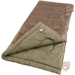 コールマン Coleman オークポイント寒い気候Big and Tall寝袋 スリーピングバッグ 寝具 キャンプ マットレス ベッド ブランケット アウトドア