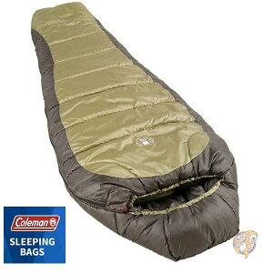 Coleman コールマン寝袋  シュラフ マミー型寝袋 日本未発売 人形型寝袋 Coleman Sleeping Bag 最適温度 -17.8 ℃ 188cmまで対応 [並行輸入品] 低温 冬キャンプ向け