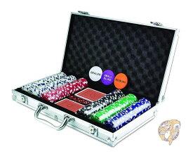 KOVOT 300 チップ サイコロ ポーカーセット アルミケース付きトランプ カジノ パーティー