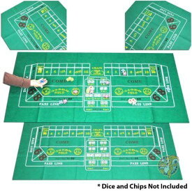 ポーカーレイアウト Trademark Poker 10-3020 クラップスゲーム用