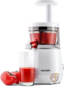 ヒューロム スロージューサー HUROM HP 低速ジューサー 酵素 栄養 野菜 フルーツ ホワイト