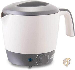 ダッシュ 電気ポット DASH DMC100GY 炊飯器 麺 パスタ スープ お湯 1.2L グレー
