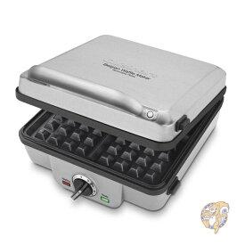 Cuisinart クイジナート WAF-300P1 Belgian ワッフルメーカー パンケーキメーカー ホットサンドメーカーwith Pancake Plates 時短家電 朝食 おやつ ホットケーキ パンケーキ ワッフル作り ワッフル手作り