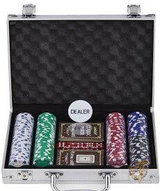 カジノポーカーチップセット Smilejoy 200枚チップ&アルミケース