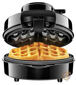 火山形ベルギーワッフルメーカー Chefman Perfect Pour Volcano? Belgian Waffle 火山のような形に焼き上げるワッフルメーカー 時短家電 朝食 おやつ ホットケーキ パンケーキ ワッフル作り ワ