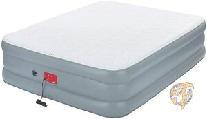 コールマン Coleman SupportRest エリートダブルハイエアベッド キルトトップ クイーンサイズ エアーマットレス ベッド 寝袋 寝具 キャンプアウトドア