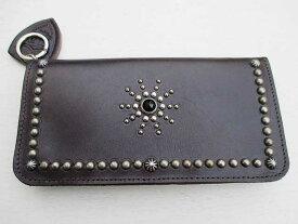 HTC エイチティーシー STARBURST スペシャルモデルロングウォレットdark brown