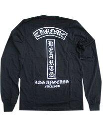 SMサイズ CHROME HEARTSクロムハーツロサンゼルス限定ロングスリーブTシャツロンTblack