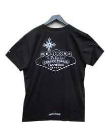 XLサイズまで CHROME HEARTSクロムハーツオリジナルボディーラスベガス限定モデルTシャツ black A