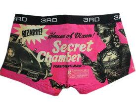 3RDWAREサードウェアーKURONO Secret メンズ ボクサーパンツ